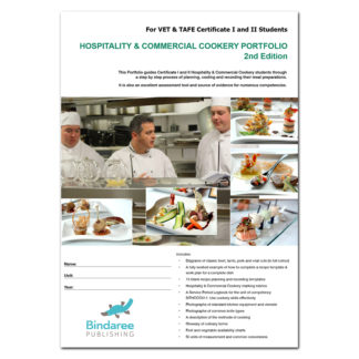 hospitality and commercial cookery cover